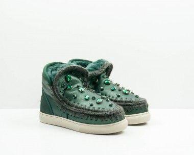 b700a6ccf80 BOTINES MUJER BOTA - MOU Verde Catalogo Zapatos