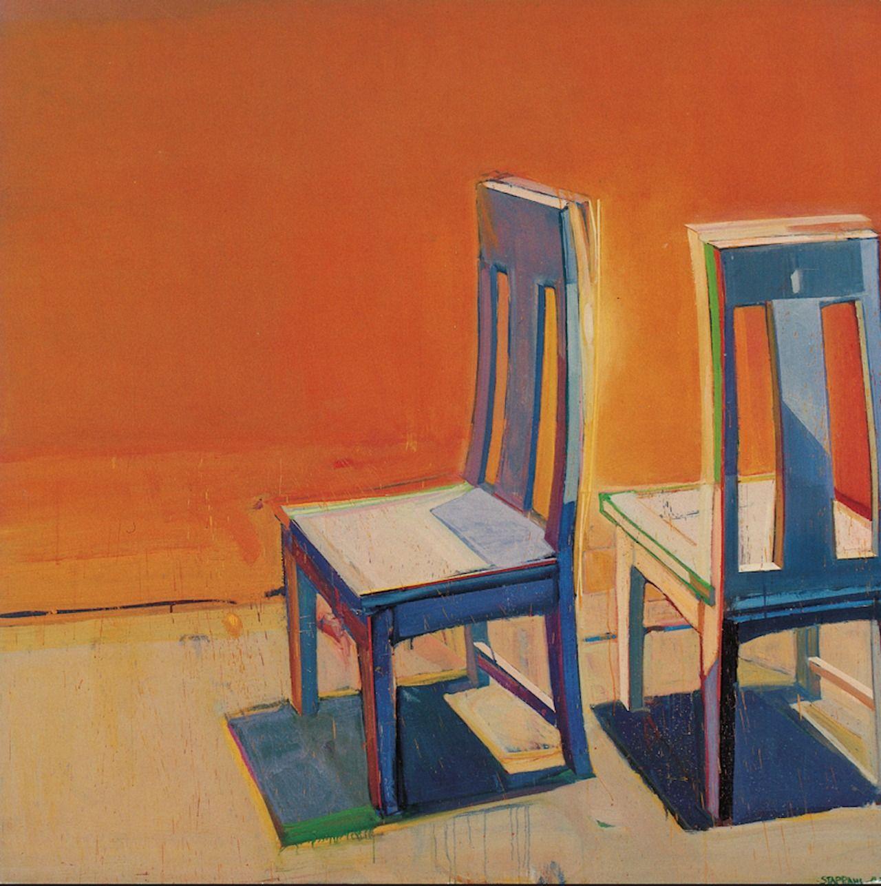 Raimonds Staprans Chairs Art Chair Art Painting