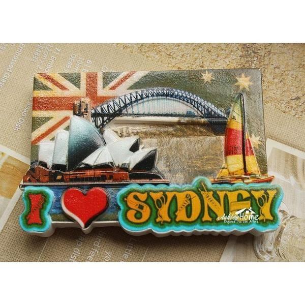 I love sydney australia tourist travel souvenir decorative resin i love sydney australia tourist travel souvenir decorative resin fridge magnet craft gift idea negle Image collections