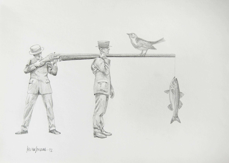 Caza Y Pesca Pesca Dibujos Caza