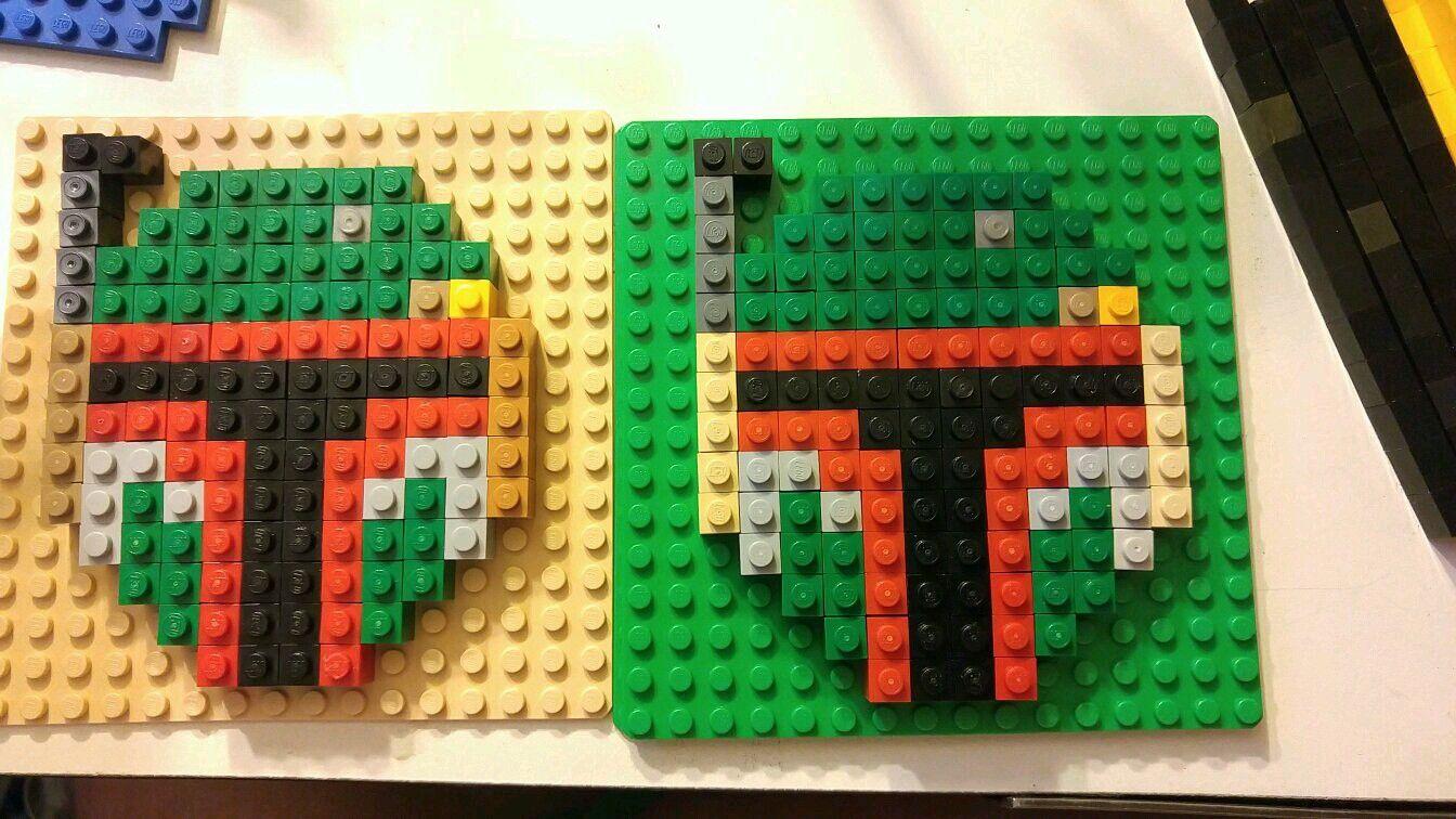 Lego Star Wars Boba Fett Helmet Pixel Art Lego Crafts Boba Fett