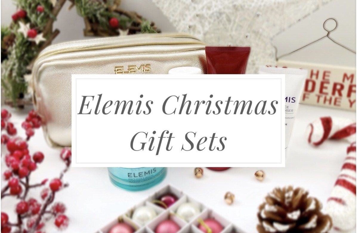 Beautiful Christmas Gift Sets from Elemis for skincare junkies ...