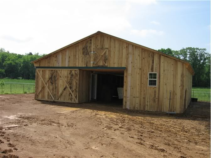 Need barn plans and photos homesteading today new barn for Barn designs for horses