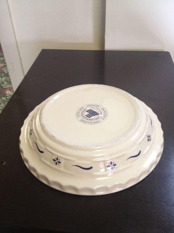 Dinnerware & Longaberger Pottery Pie Plate | Pie plate Pottery and Dinnerware