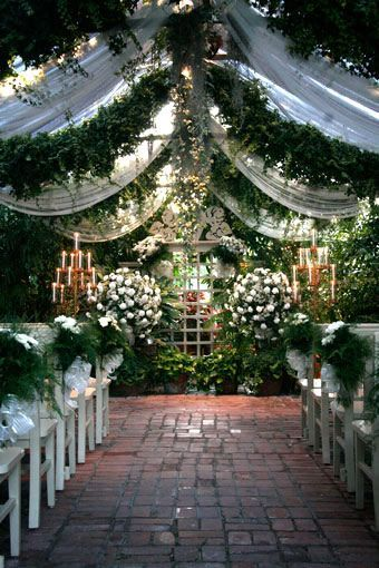 The Conservatory Garden Wedding Venue St