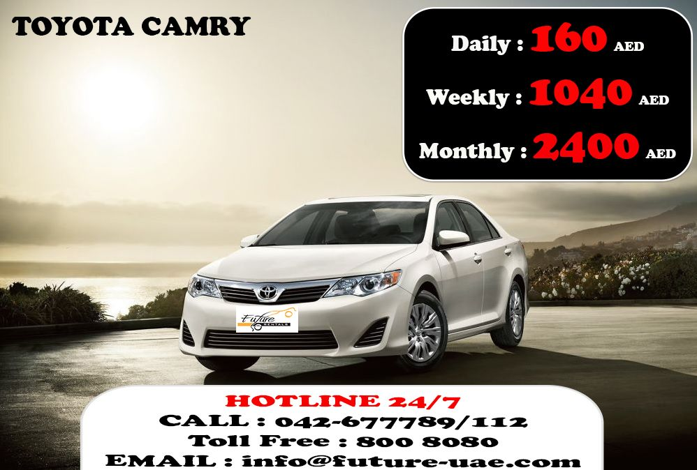 Future Car Rentals Offering Promotion On This Month Giving You The