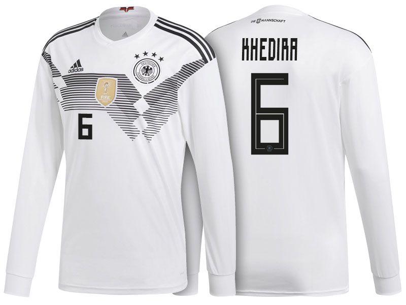 Germany Shirt 2018 World Cup Ls Sami Khedira Home Soccer Jersey Germany Shirt Jersey Shirt Soccer World