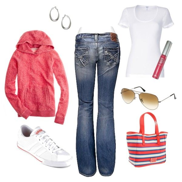 Cute comfy-casual outfit