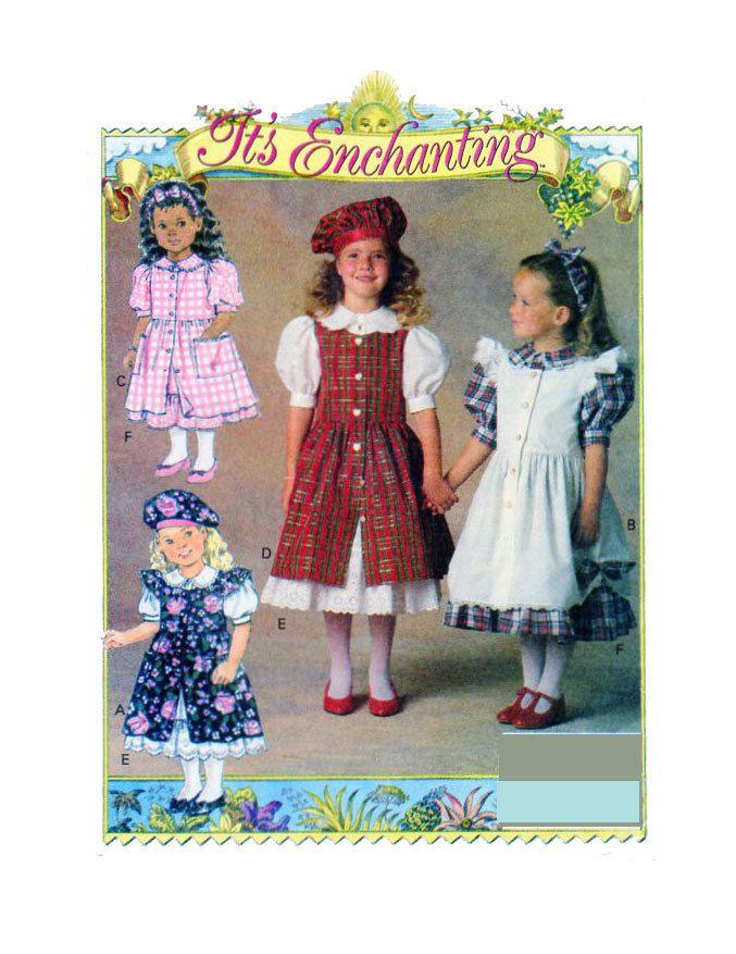 IT\'S ENCHANTING Girls Fancy Dress & Pinafore/Apron/Overdress ...