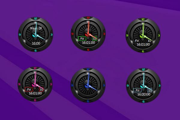 Alien combo clock Windows 10 Desktop Gadget… | Věci na sebe ...