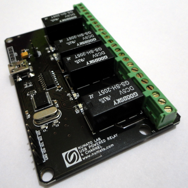 4 Channel USB Powered Relay Module | Relay Modules | 4