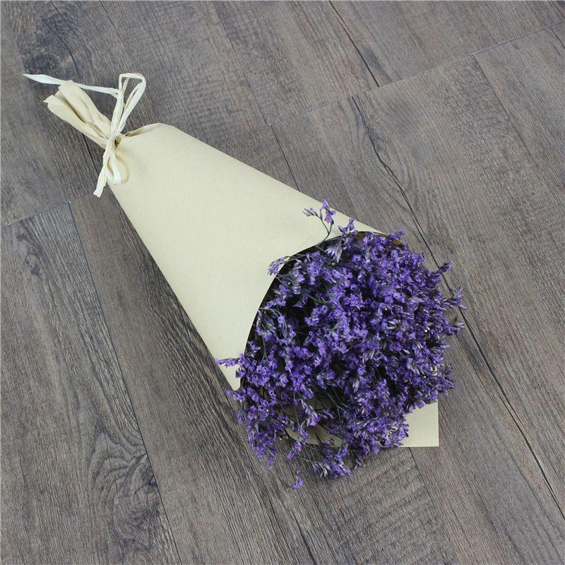 Decorativas flores secas de lavanda ramo de flores real touch flores - flores secas