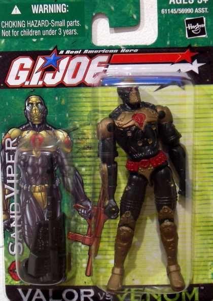 Action Figure Boxes - G.I. Joe: Sand Viper
