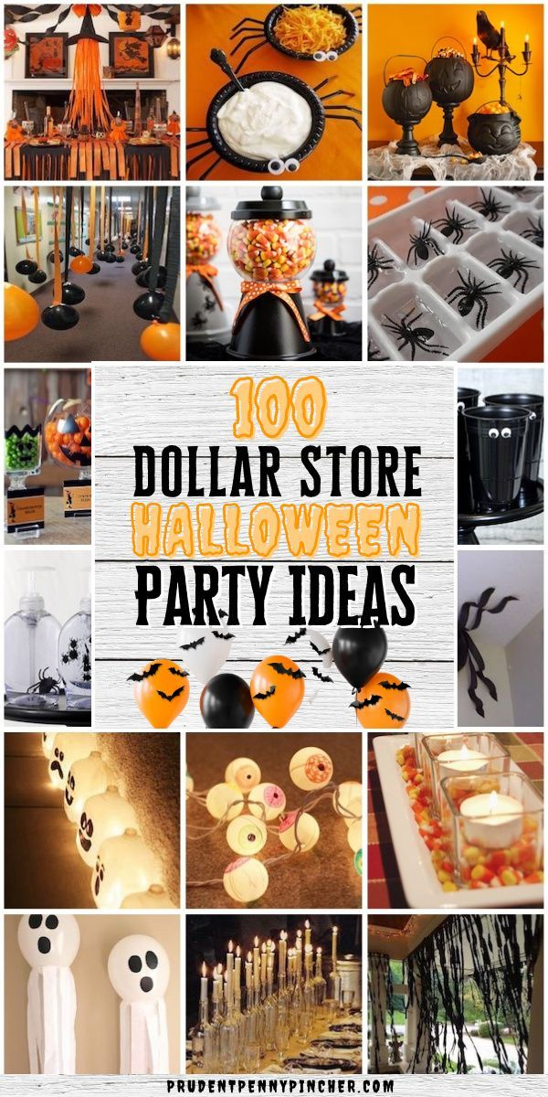 Photo of 100 Dollar Store Halloween Party Ideas