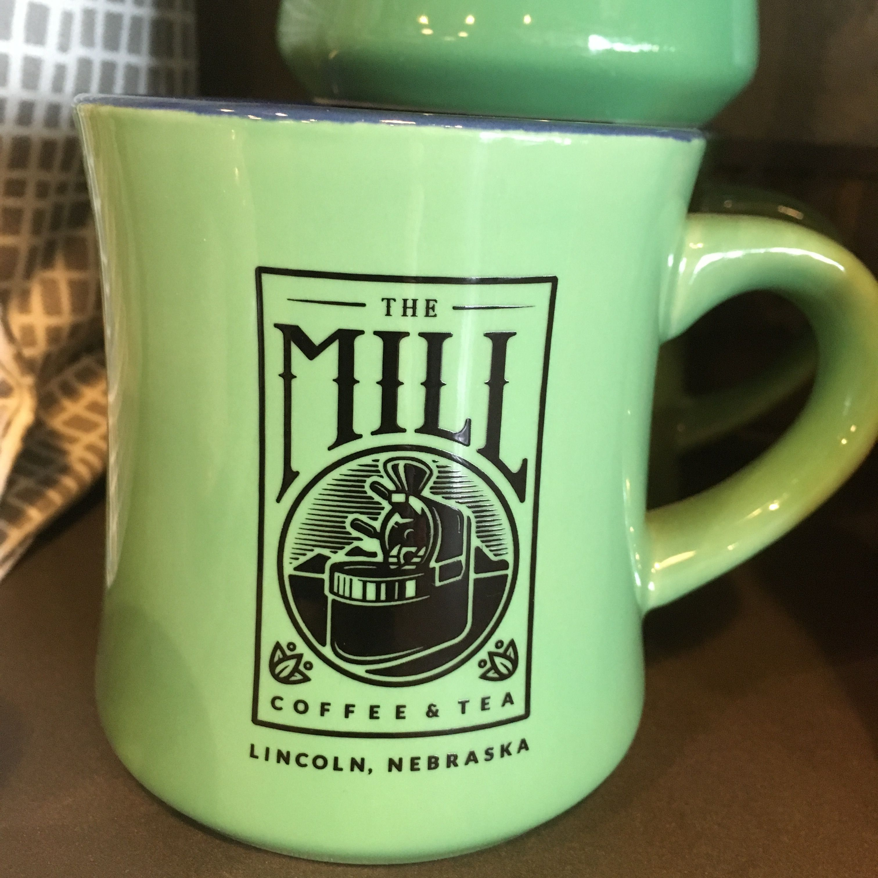 The Mill, Lincoln, Nebraska, coffee mug. Mugs, Nebraska