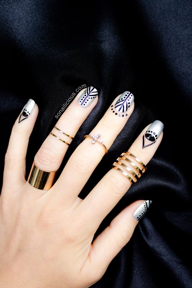 Cuticle nail art are you in gold rings ring and gold cuticle nail art are you in sciox Image collections
