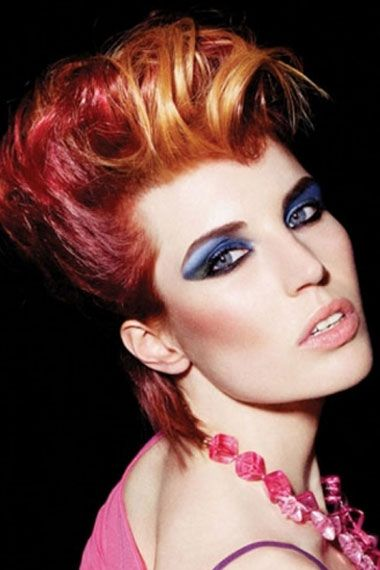 crazy punk hairstyle 2013