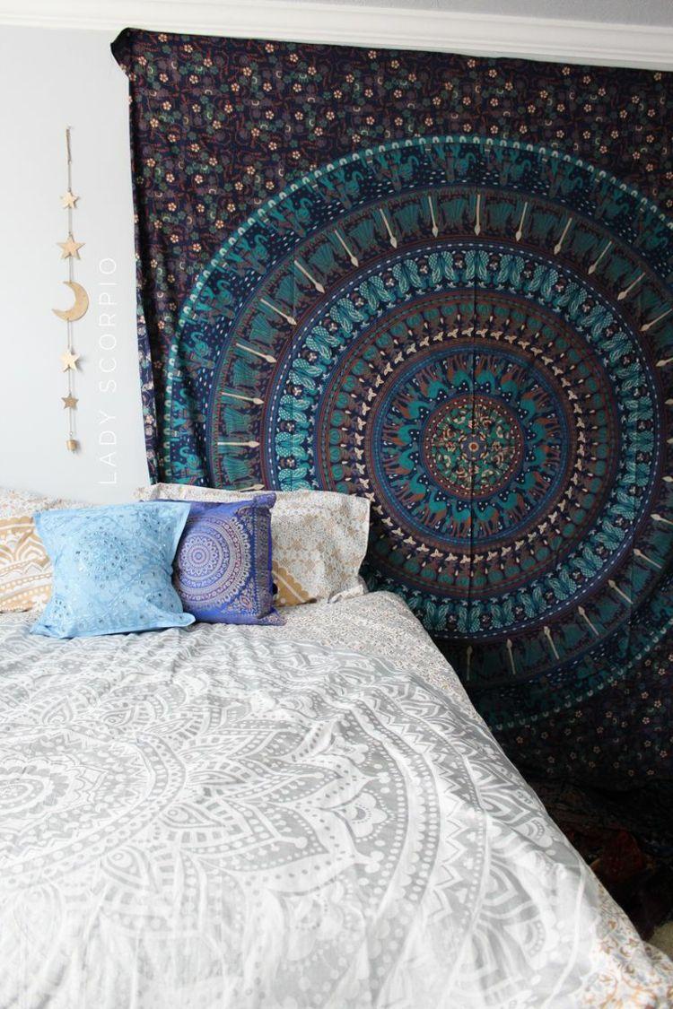 Schlafzimmer Deko Ideen Für Die Gestaltung U0026 Farben Im Boho Style #farben  #gestaltung #
