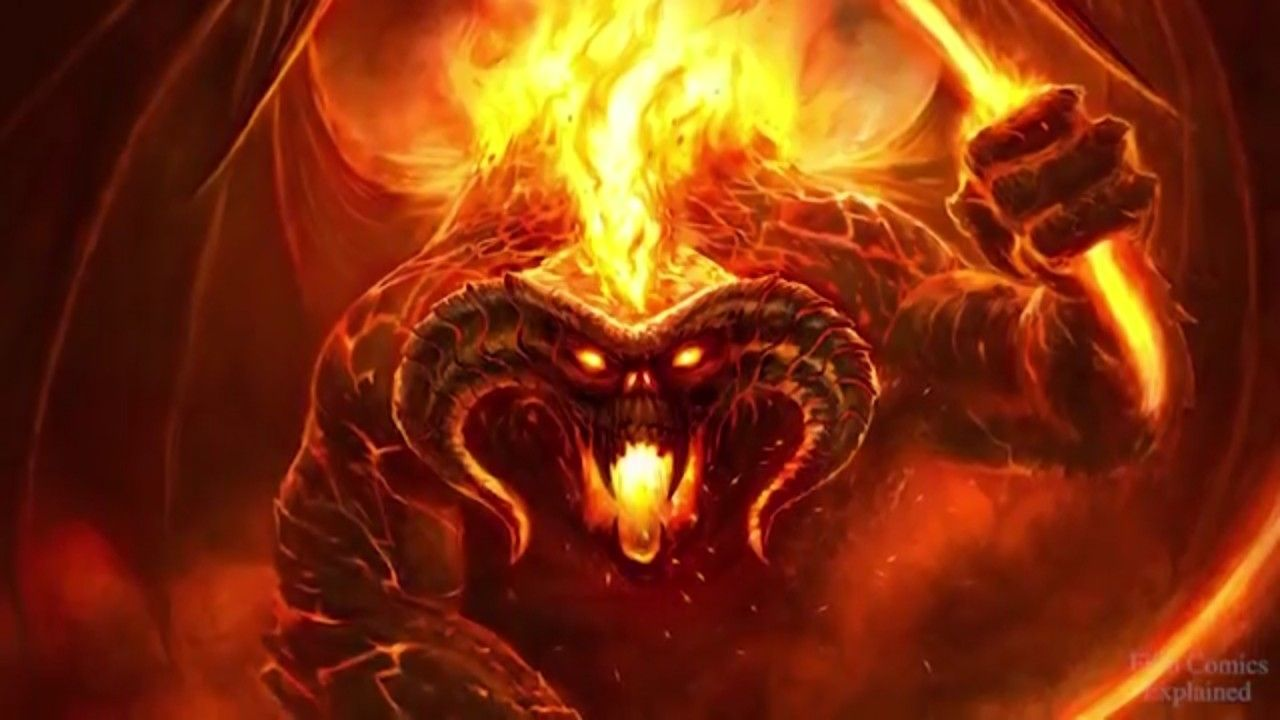 Pin By Wayde Bain On Art And Insparation Lord Of The Rings The Hobbit Balrog Of Morgoth