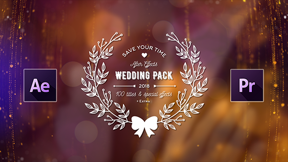 Wedding Titles Pack - 100 Titles & Special Effects | AKA
