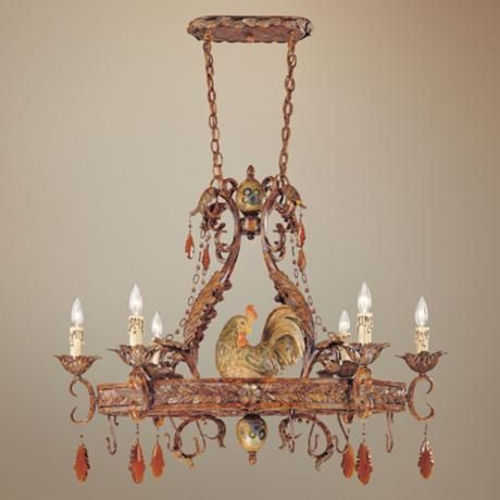 Tracy Porter Clyde Collection 23 Wide Pot Rack Chandelier – Rooster Chandelier