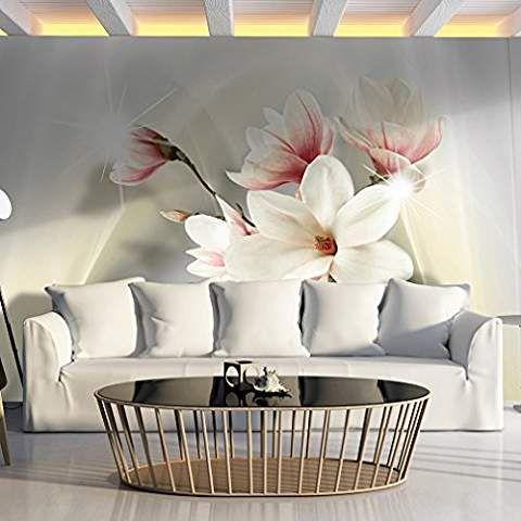 Fototapete Blumen 350x245 cm XXL VLIES TAPETE - Moderne Wanddeko - moderne tapeten fr schlafzimmer
