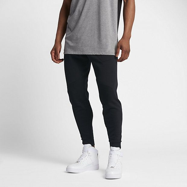 Fashion Nike Sportswear Tech Knit Pant Mens Black