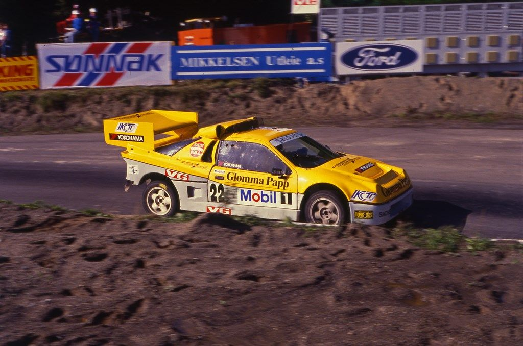 Iverson Rs200 Toy Car Ford Rallying