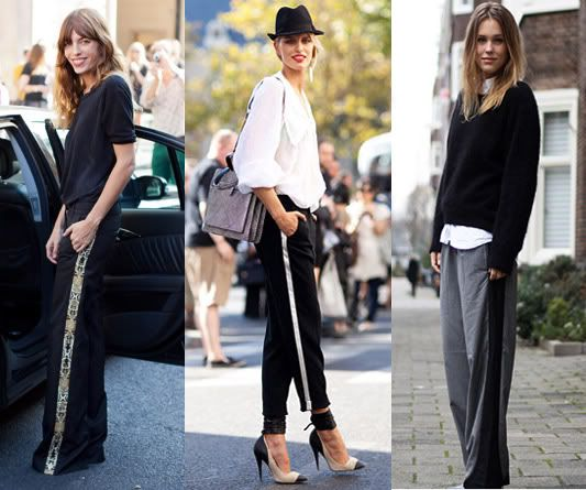 How do celebrities wear their tuxedo pants