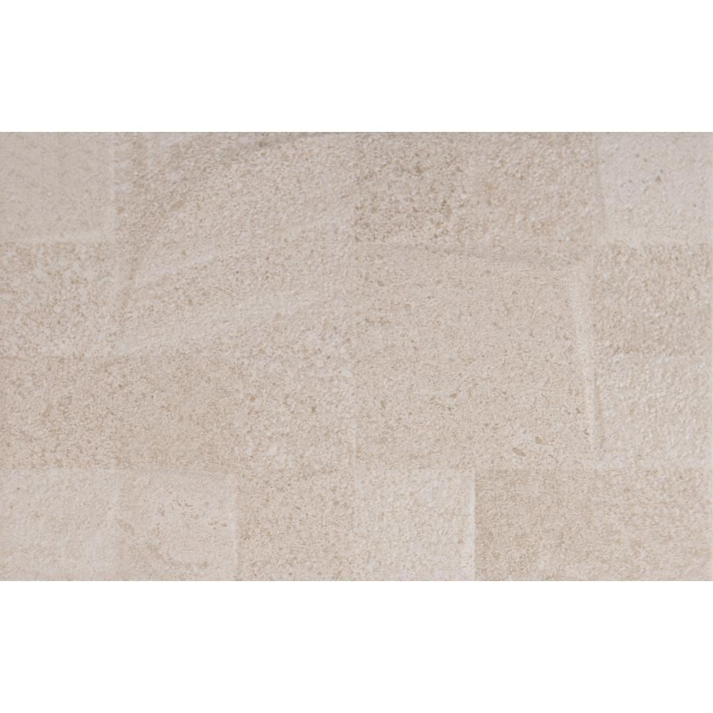 Ms International Textura Crema 10 In X 16 In Glazed Ceramic Wall Tile 12 21 Sq Ft Case Nhdtexcre10x16 Ceramic Wall Tiles Wall Tiles Glazed Ceramic Tile