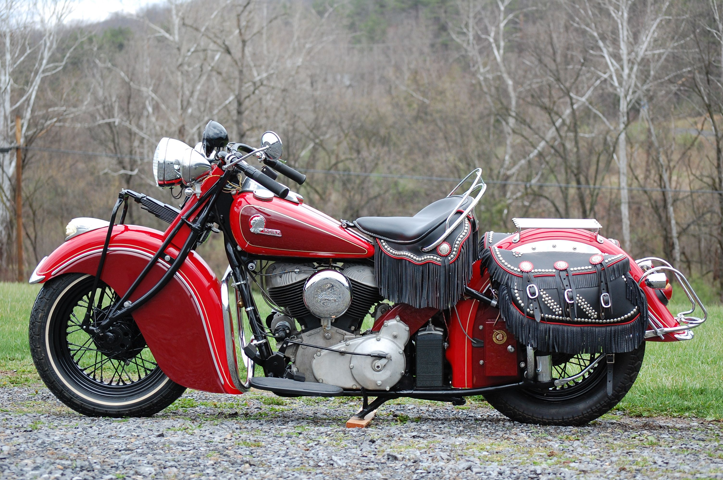 Motorcycle Throwback The 1945 Indian Chief BikeBandit