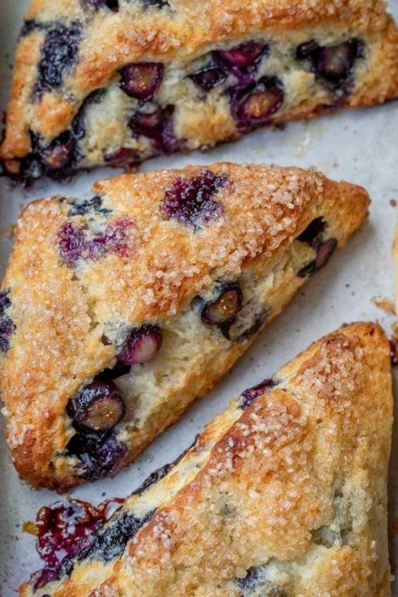 Photo of Blueberry Scones Recipe