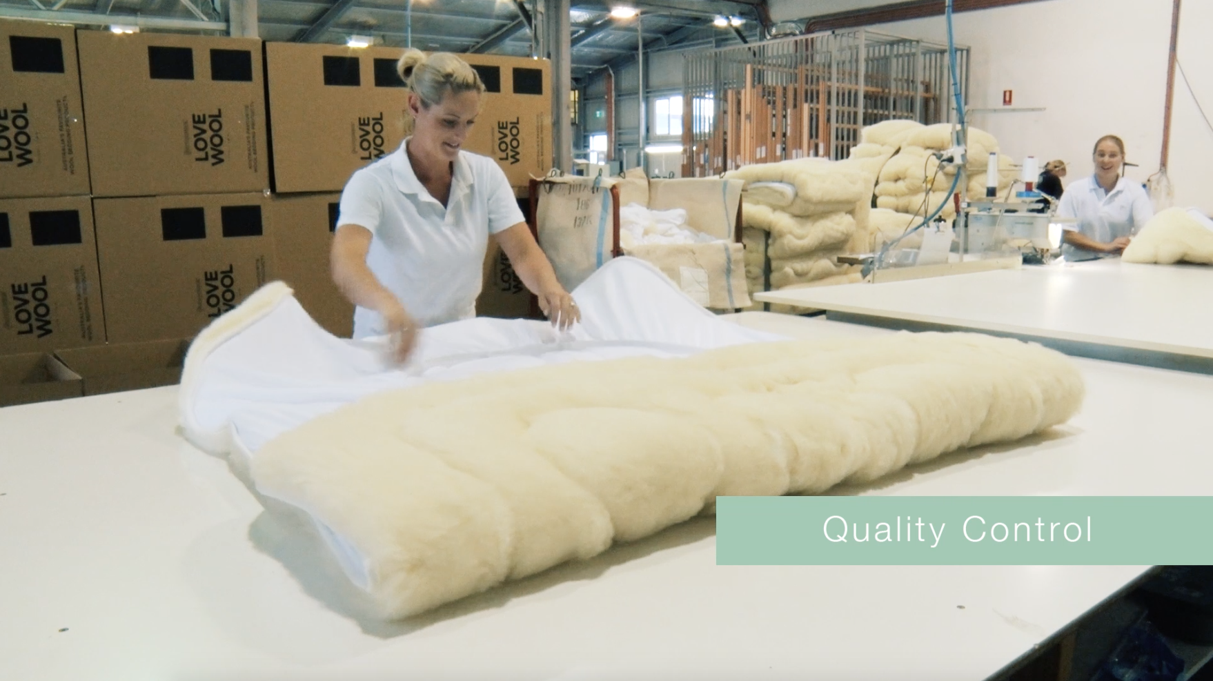learn how a minijumbuk mattress topper is manufactured from start to