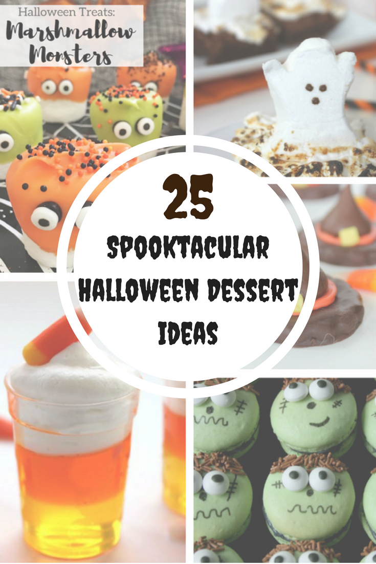 A roundup of 25 adorably creative Halloween Dessert ideas for a kids ...