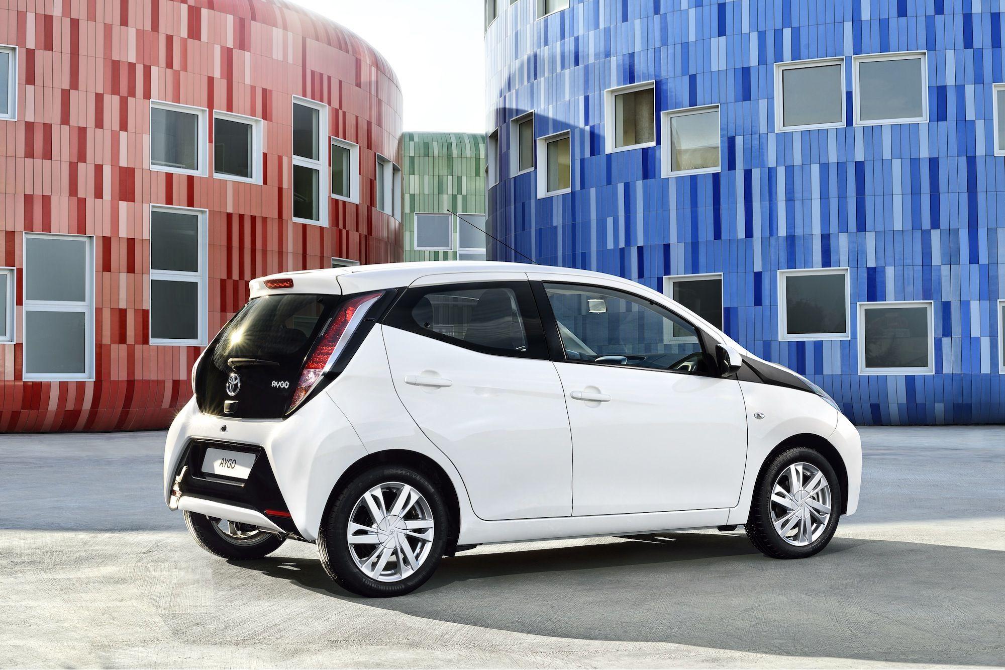 All New Toyota Aygo Revealed Toyota Aygo City Car Car Paint Jobs