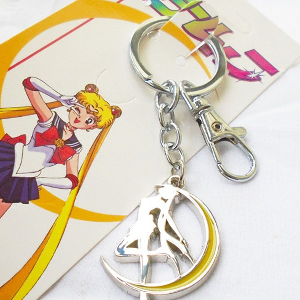 Camplayco Sailor Moon Logo Keychain Cosplay *** You can get additional details at the image link.