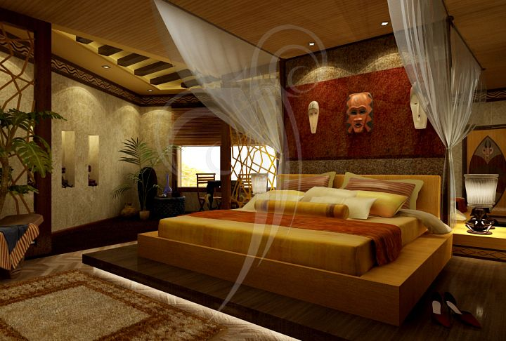 African Bedroom By Shynymph.deviantart.com On @deviantART