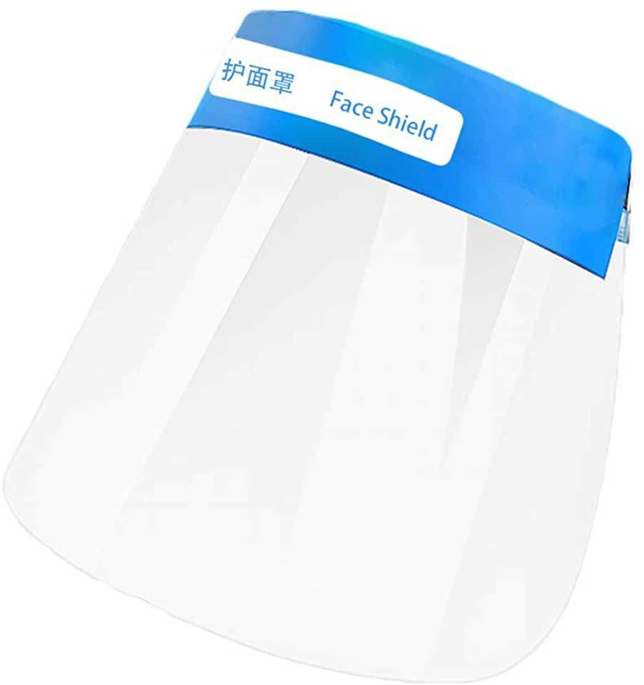 Transparenter atmungsaktiver Gesichtsschutz mit