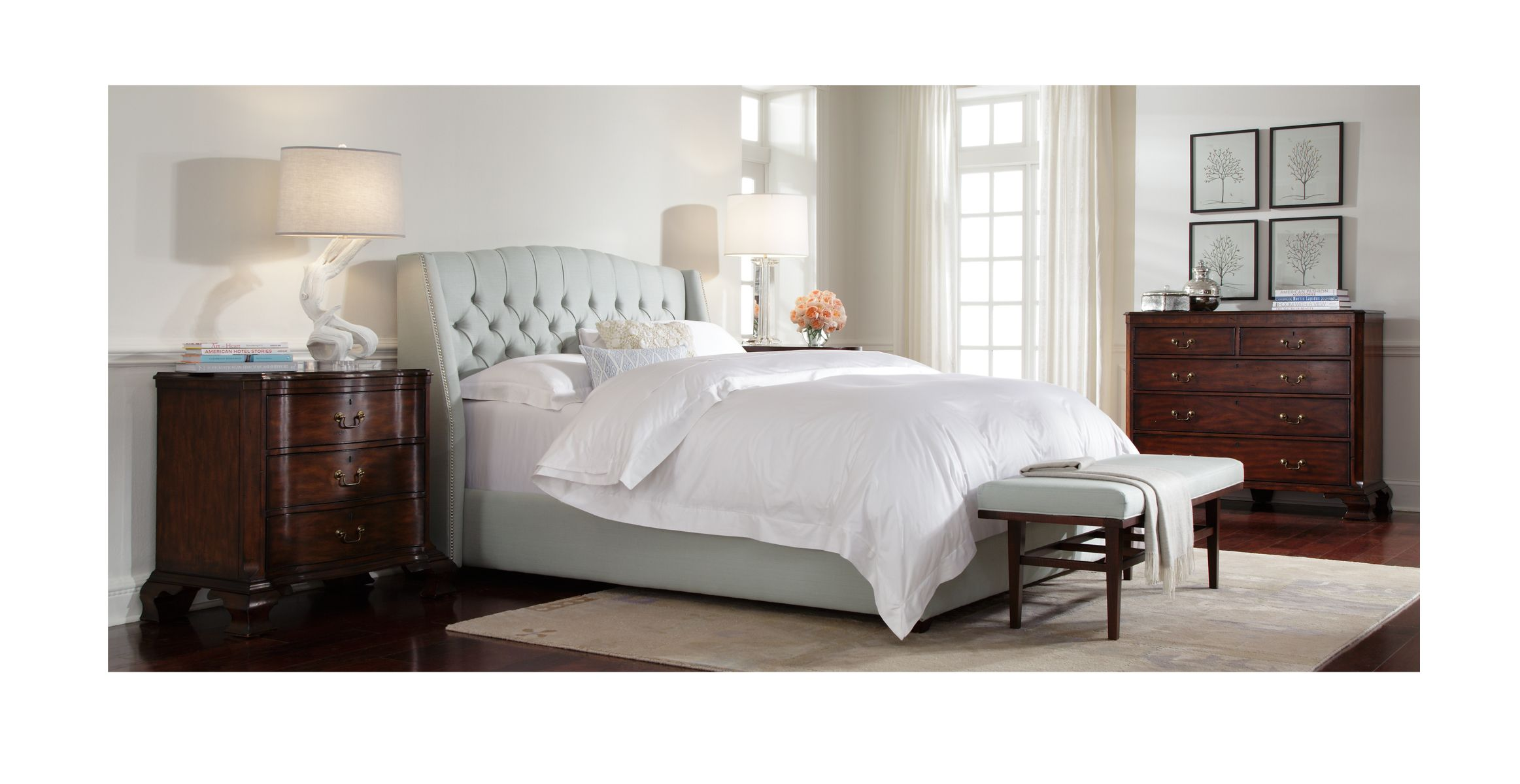 Helaine Bed Available Online Mitchell Gold Bob Williams