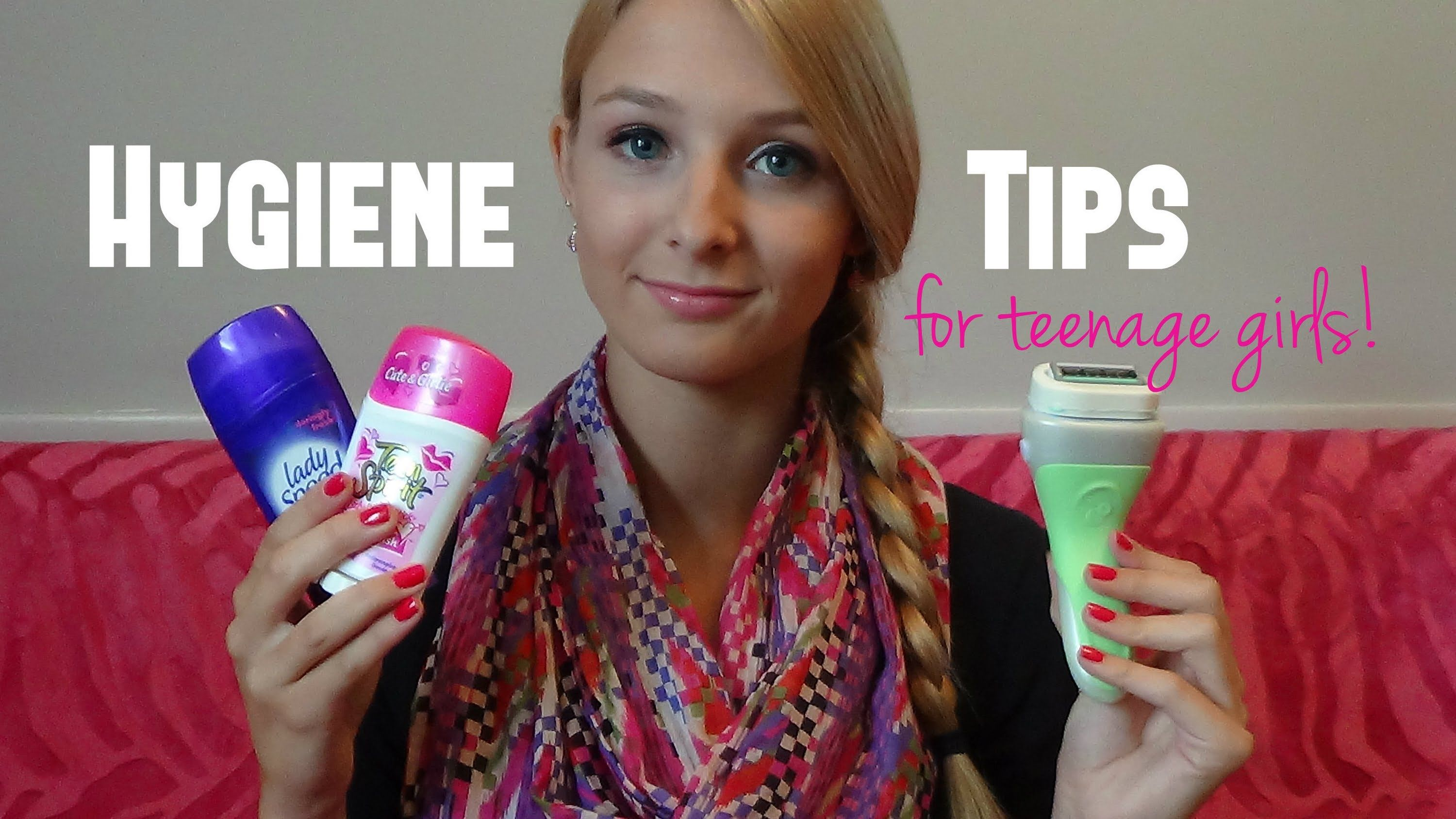 Hygiene Tips For Teenage Girls