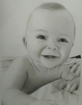 Drawing cute Baby by cdudley25 | Drawings, Realistic ...