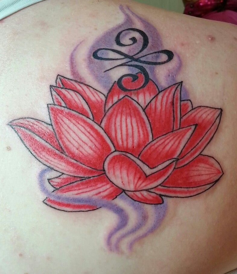 Red lotus meaning love & symbol means a new beginning