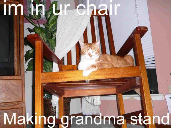 In Ur Chair