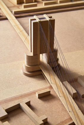 how to build a model bridge for kids