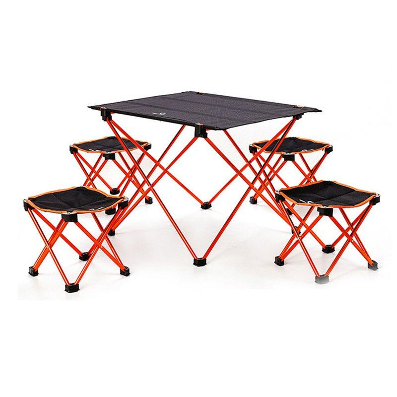 Portable Folding Diy Table Chair Desk Camping Bbq Hiking Traveling Outdoor Picnic Camping Table Outdoor Picnics Camping Bbq
