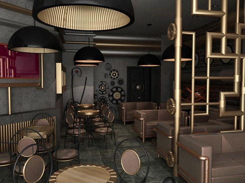 SteamPunk Room Decor Ideas