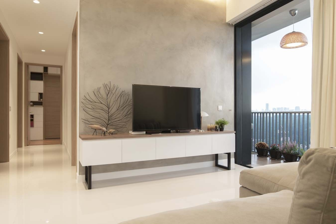 Woody Tv Console Which Fits Theme Scandanavian Interiors Living Room Feature Wall Living Room Lounge Room Design
