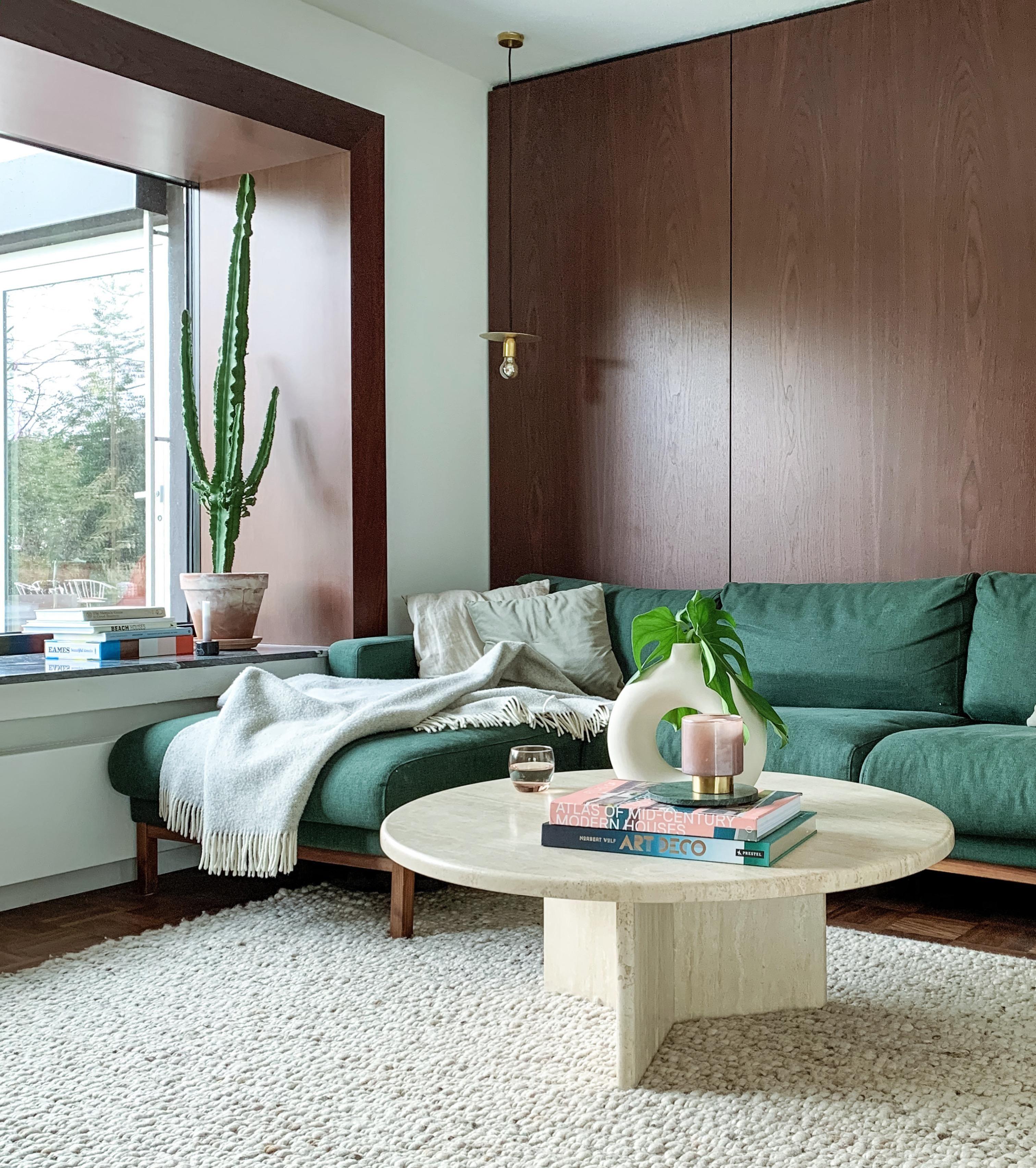 Unser Neuer Travertin Tisch Kleinanzeigenschnäppchen Haus Deko Wohnzimmertische Zimmer