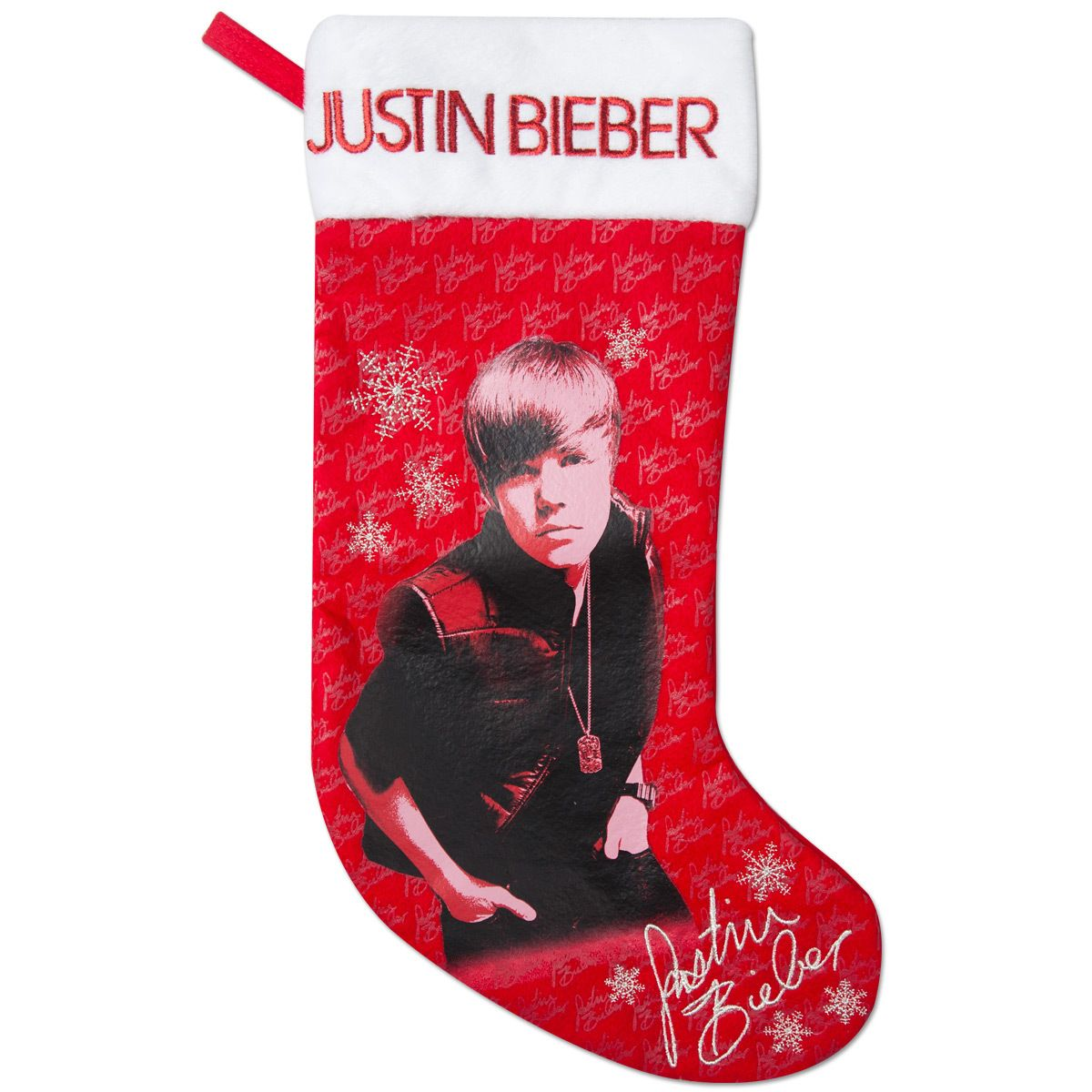 A Bieber Christmas stocking is horrific.   Make this Holiday Sexy by winning #Gifts from #EdenFantasys !
