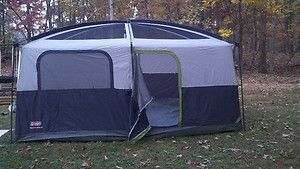 Delicieux Coleman Prairie Breeze 9 Person Cabin Tent W Light And Fan Kit